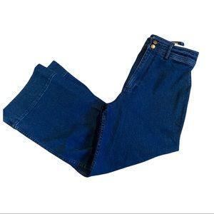 Apiece Apart Jeans Merida Crop Flare size 8